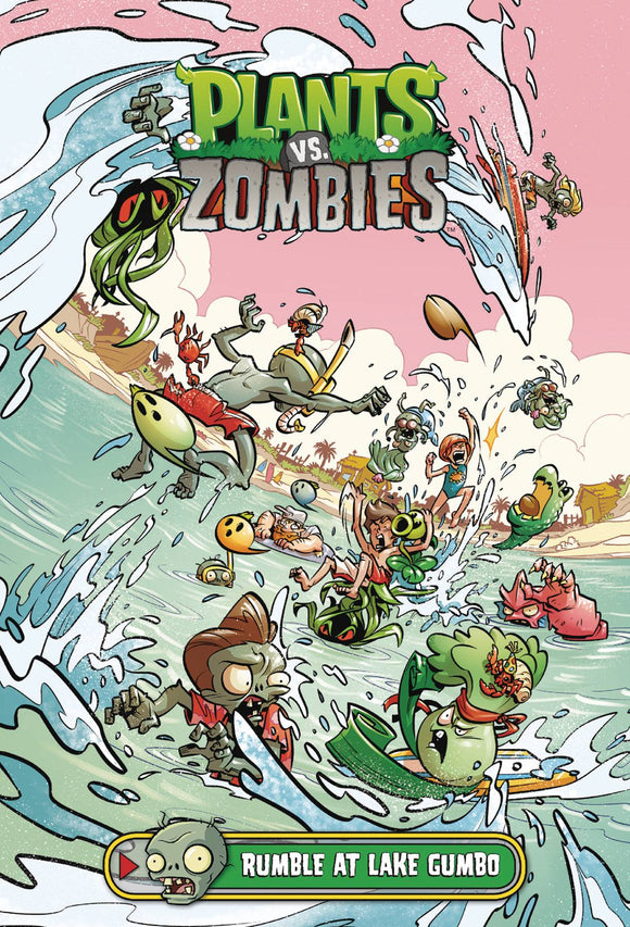 Plants Vs Zombies Rumble At Lake Gumbo HC - Books