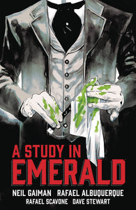Neil Gaiman Study In Emerald Hc