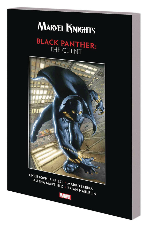 Marvel Knights Black Panther By Priest & Texeira Tp Cl