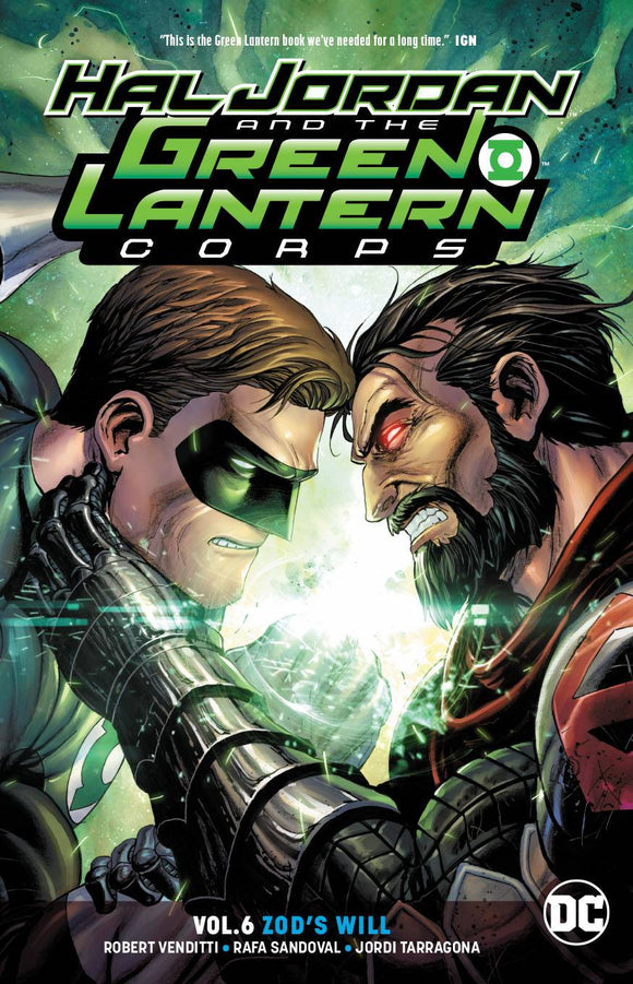 Hal Jordan & The Green Lantern Corps TP Vol 06 Zods Will - Books