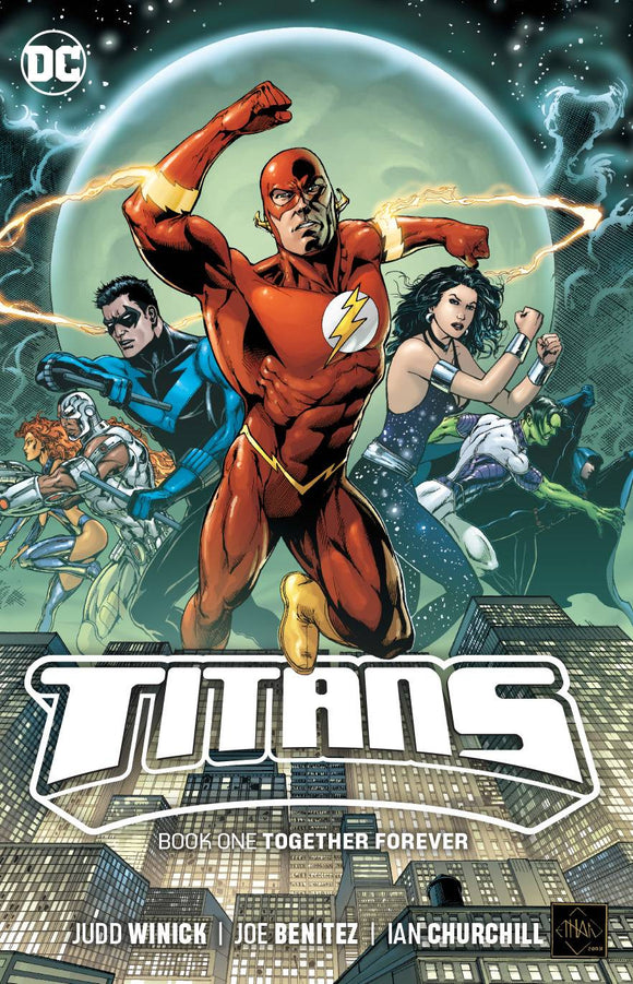 Titans Tp Book 01 Together Forever