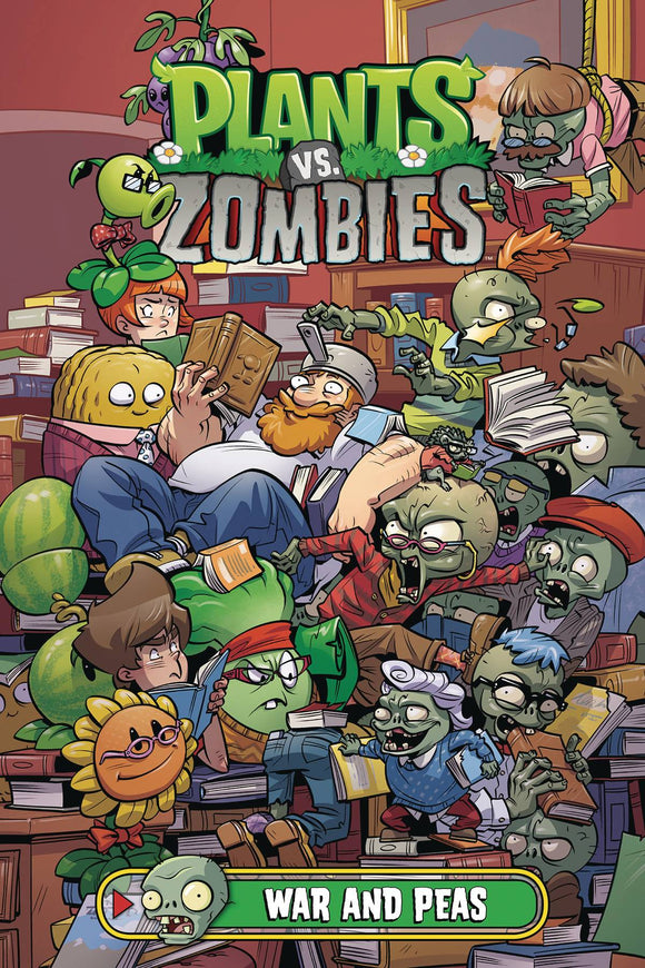Plants Vs Zombies War And Peas Hc