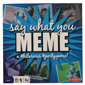Say What You Meme Party Game 2Nd Edition