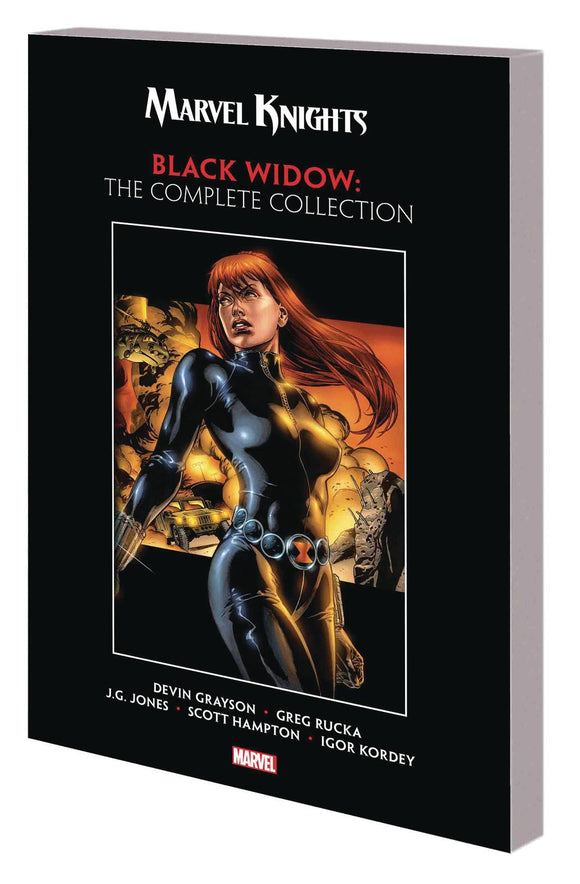 Marvel Knights Black Widow By Grayson & Rucka Tp Mr