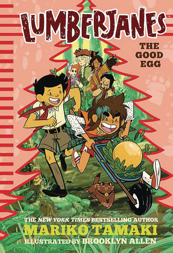 Lumberjanes Illus Hc Novel Vol 03 Good Egg