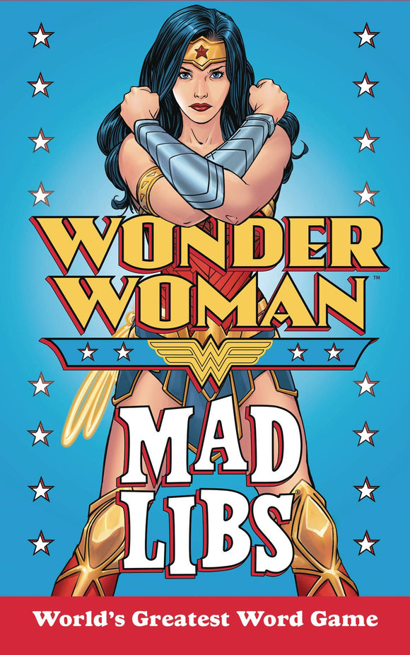 Wonder Woman Mad Libs