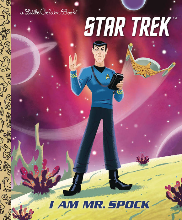 I Am Mr Spock Little Golden Book