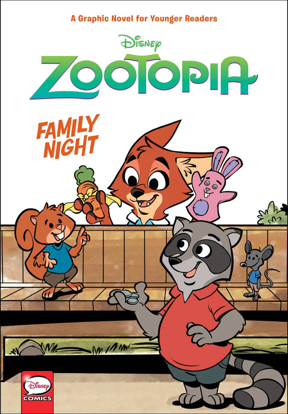 Disney Zootopia Family Night Yr Hc