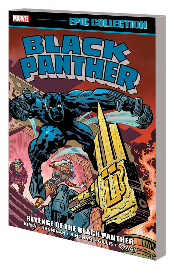 Black Panther Epic Coll Tp Revenge Black Panther