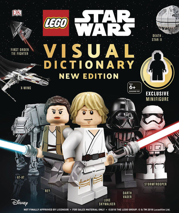 Lego Star Wars Visual Dictionary New Ed W Minifigure - Books