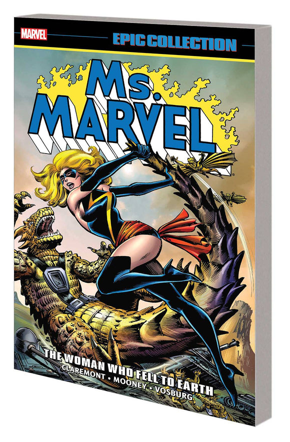 Ms Marvel Epic Collection TP Woman Who Fell to Earth - Books