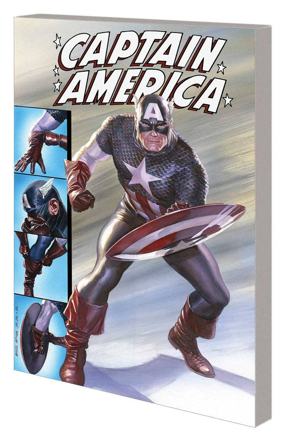 Captain America Tp Evolutions Of Living Legend