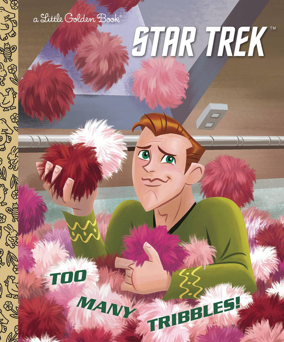 Star Trek Too Many Tribbles Little Golden Book