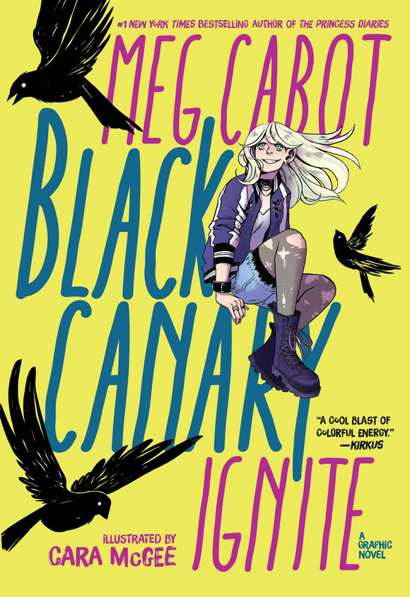 Black Canary Ignite Tp Dc Zoom