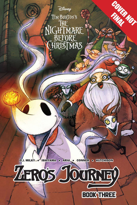 Disney Manga Nightmare Christmas Zeros Journey TP Vol 03 - Books