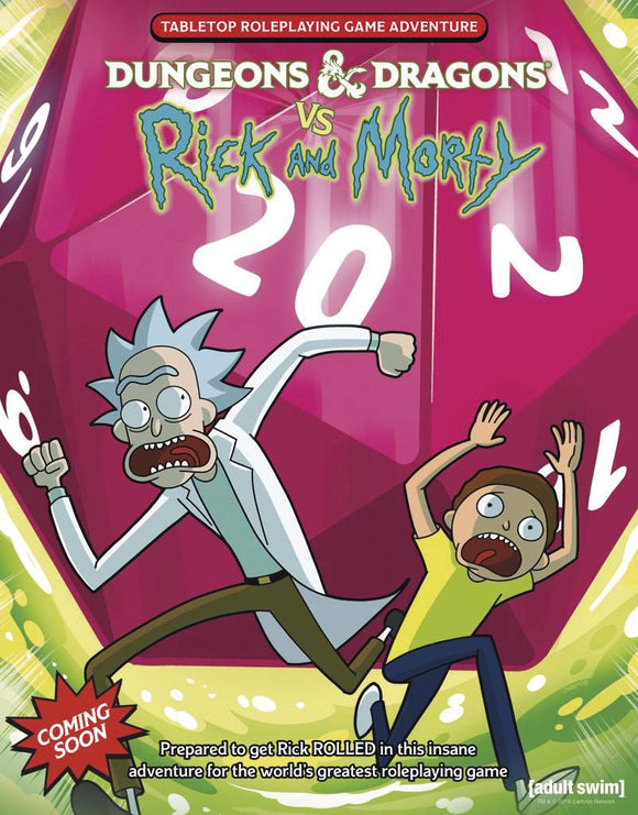 D&D Rpg Rick & Morty Tabletop Rpg Sc