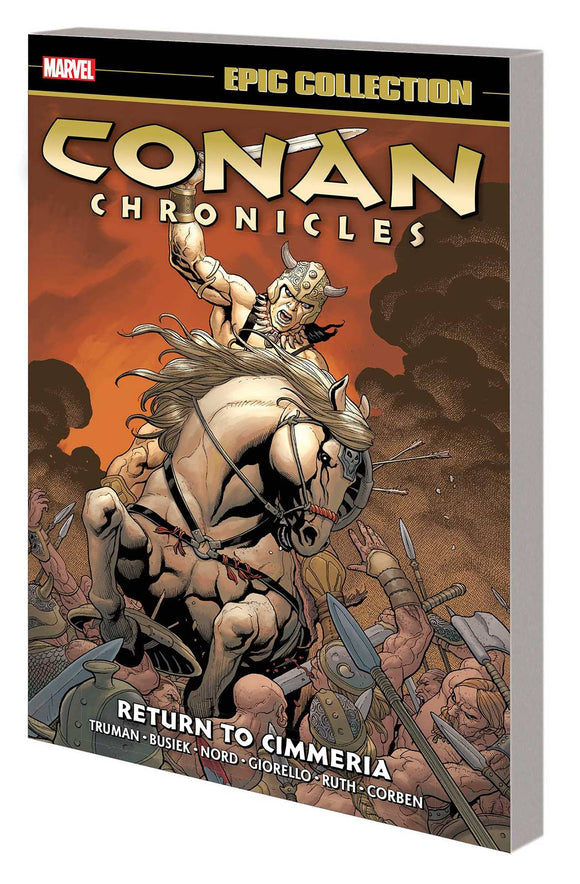 Conan Chronicles Epic Collection TP Return to Cimmeria - Books