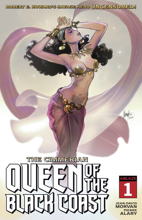 Cimmerian Queen Of Black Coast #1 Cvr B Mirka Andolfo.