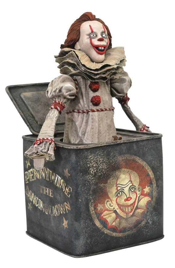 It 2 Gallery Pennywise In Box Pvc Statue - Toys and Models