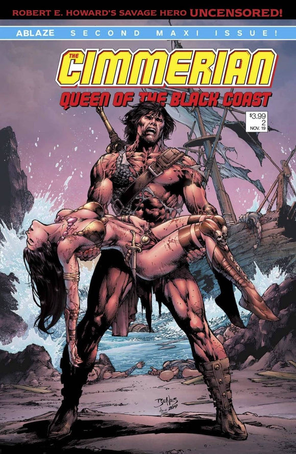 Cimmerian Queen Of Black Coast #2 Cvr C Ed Benes