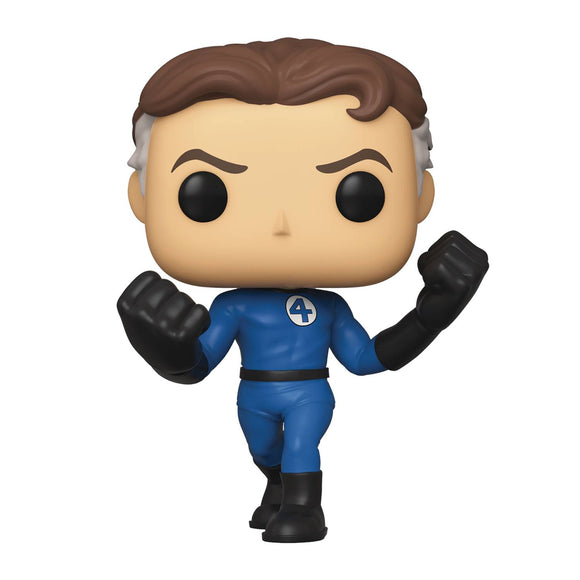 Pop Marvel Fantastic Four Mister Fantastic Vin Fig