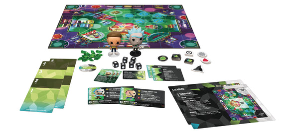 Pop Funkoverse Strategy Game Rick & Morty 100 Expandalone