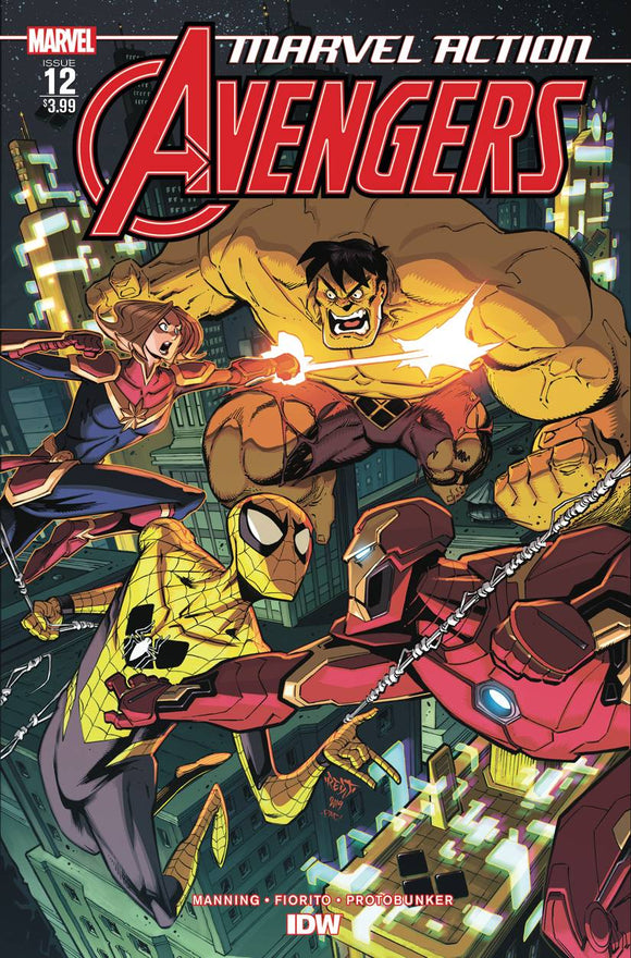 Marvel Action Avengers #12 Fiorito - Comics