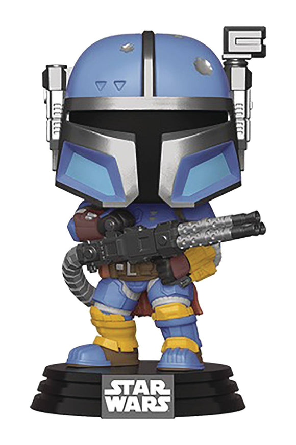 Pop Star Wars Mandalorian Heavy Infantry Mandalorian Vin Fig