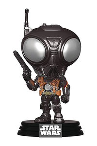 Pop Star Wars Mandalorian Q9-Zero Vin Fig