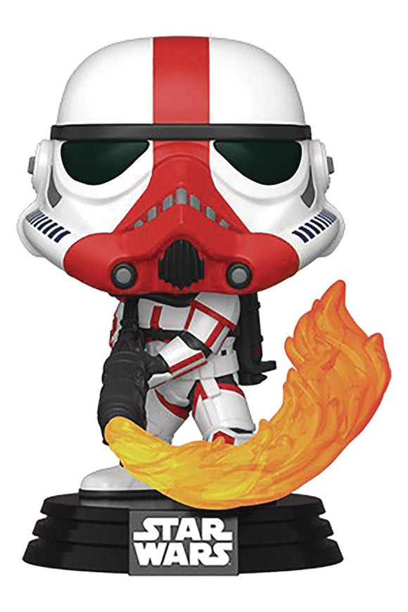 Pop Star Wars Mandalorian Incinerator Stormtrooper Vin Fig
