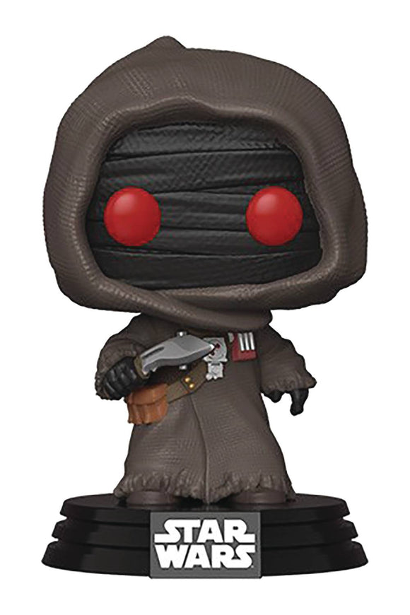 Pop Star Wars Mandalorian Offworld Jawa Vin Fig