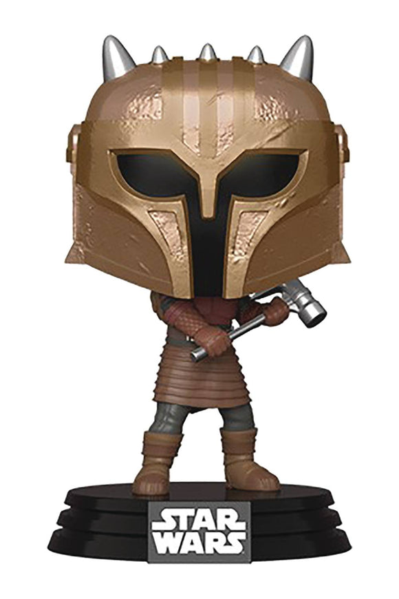 Pop Star Wars Mandalorian Armor Vin Fig