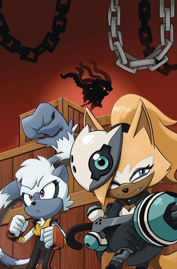 Sonic The Hedgehog Tangle & Whisper TP Vol 01 - Books