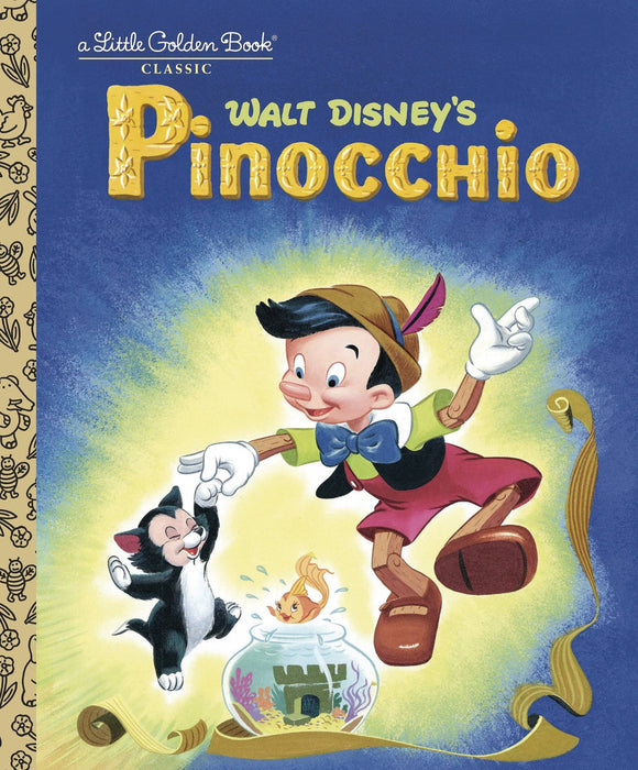 Pinocchio Little Golden Board Book