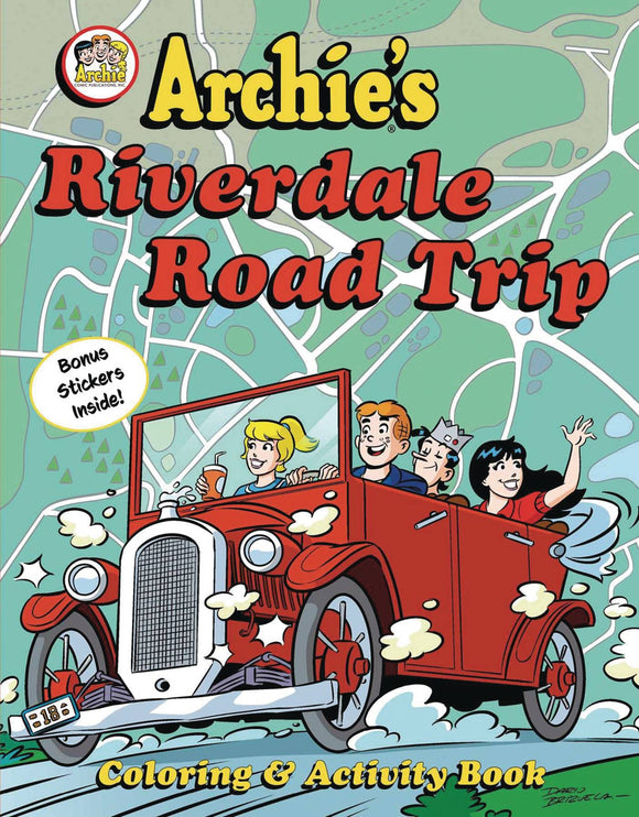 Archies Rverdale Road Trip Activity Book
