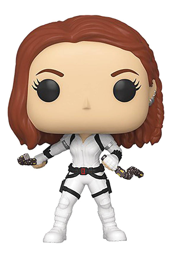 Pop Marvel Black Widow (White Suit) Vinyl Figure