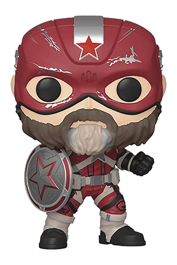 Pop Marvel Black Widow Red Guardian Vinyl Figure