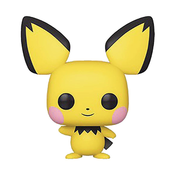 Pop Games Pokemon S2 Pichu Vin Fig - Novelties