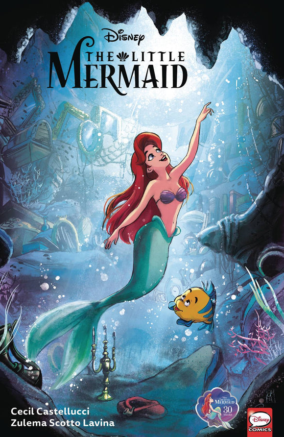 Disney The Little Mermaid TP - Books