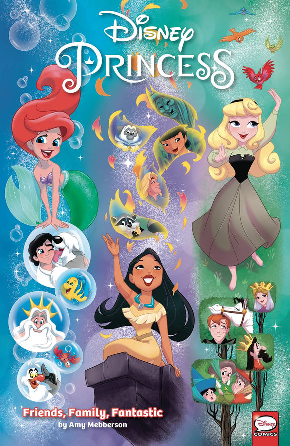 Disney Princess Friends Family Fantastic Tp