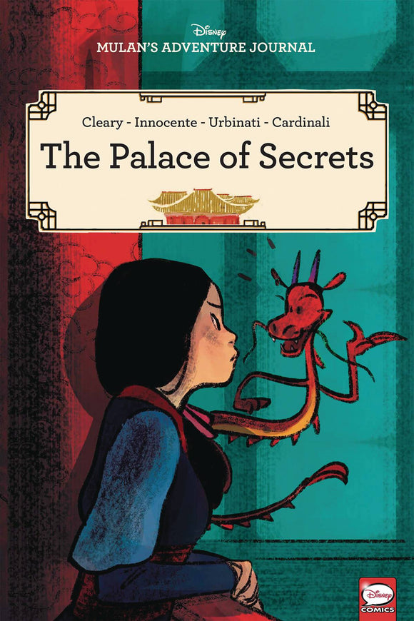 Disney Mulans Adv Journal Palace Secrets Tp