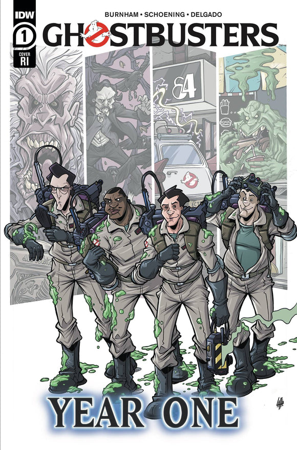 Ghostbusters Year One #1 (Of 4) Var