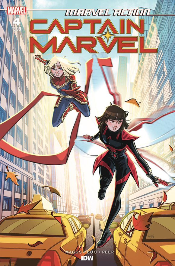 Marvel Action Captain Marvel #4 Cvr A Boo