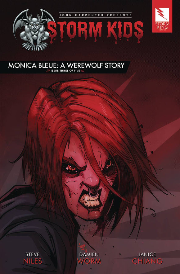 Storm Kids Monica Bleue Werewolf Story #3 (Of 5)