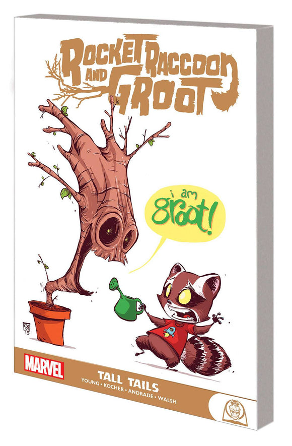 Rocket Raccoon and Groot GN TP Tall Tails - Books