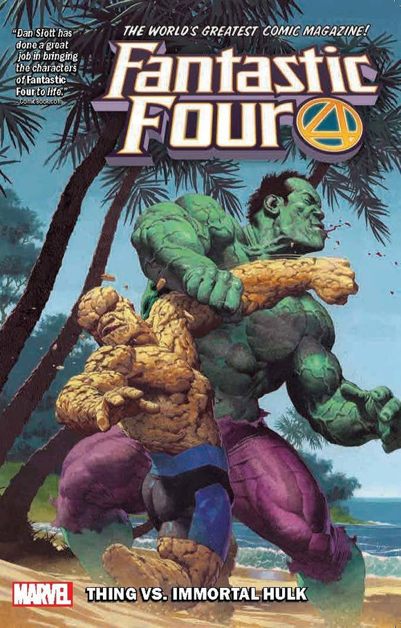 Fantastic Four Tp Vol 04 Thing Vs Immortal Hulk