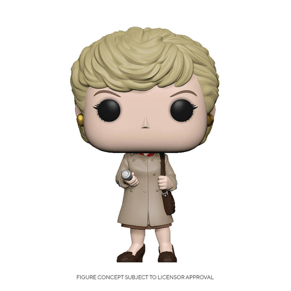 Pop TV Murder She Wrote Jessica Trenchcoat/Flashlight Fig - Novelties
