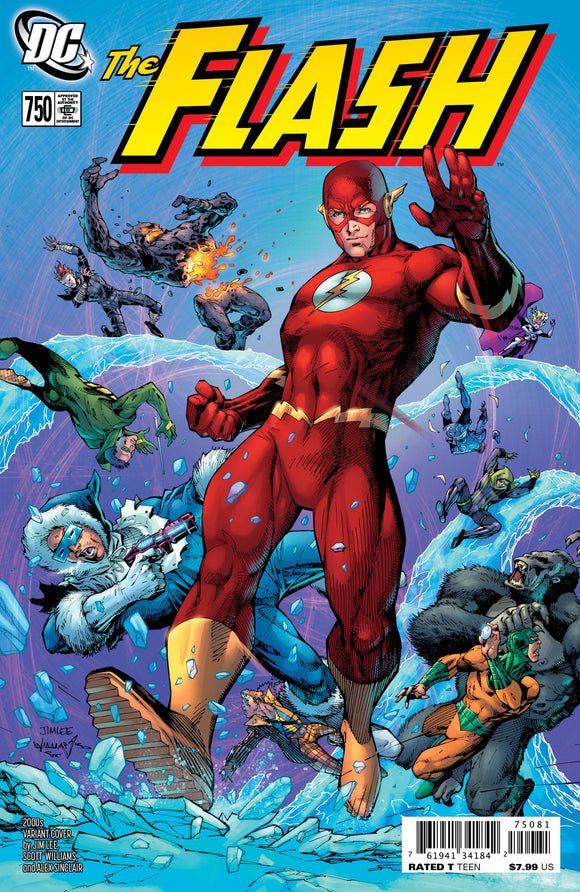 Flash #750 2000S Jim Lee Var Ed