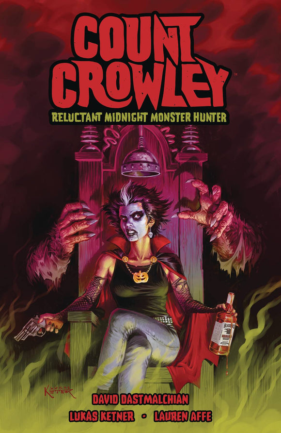 Count Crowley Reluctant Monster Hunter TP - Books
