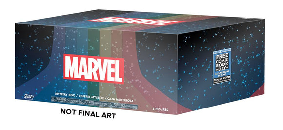 Fcbd 2020 Funko Pop Px Marvel Mystery Box A Size Sm - Novelties